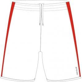 SPOKEY - Fotbalové šortky bílé vel. XL