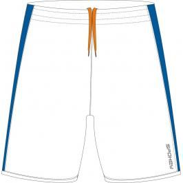 SPOKEY - Fotbalové šortky bílo-modré  vel. S