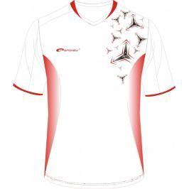 SPOKEY - Fotbalové tričko biele_vzor vel.S