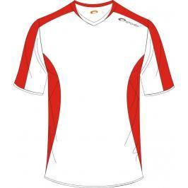 SPOKEY - Fotbalové triko bílo-červené vel. XXL