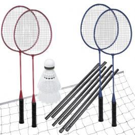 SPOKEY - FUN START - Sada na badminton, 4 rakety, síť, míčky