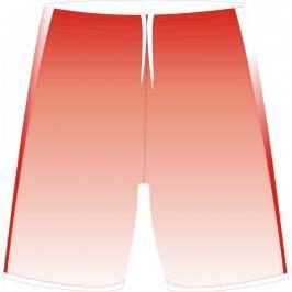 SPOKEY - Fotbalové šortky červené velikost S