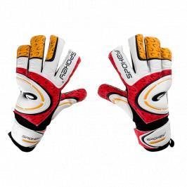 SPOKEY - GRASP brankářeké rukavice červeno-bílé roz.6
