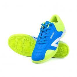 SPOKEY -  HALL JR 1 Juniorská sálová obuv modro-žlutá vel.28