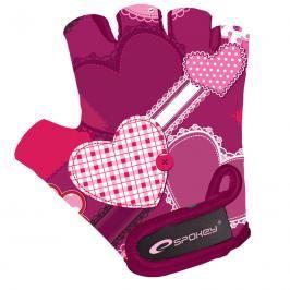 SPOKEY - HEART GLOVE Dětské cyklistické rukavice XS