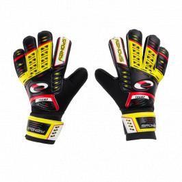 SPOKEY - KEEPER JR Brankářské rukavice žluté roz.4