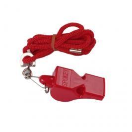 SPOKEY - MAYDAY-Píšťalka plastová červená