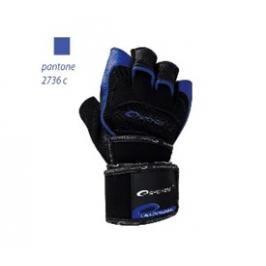 SPOKEY - MITON Fitness rukavice černo - modré vel. L