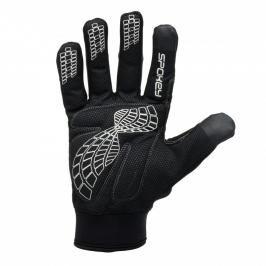 SPOKEY - REYSER Cyklistické rukavice hřejivé s dlouhými prsty M