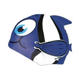 SPOKEY - RYBKA- Dětská plavecká čepice  modrá