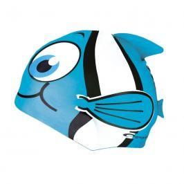 SPOKEY - RYBKA-Dětská plavecká čepice sv.modrá