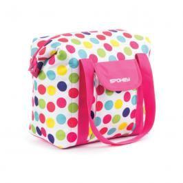SPOKEY - SAN REMO Plážová termo taška,  barevný puntík, 52 x 20 x 40 cm