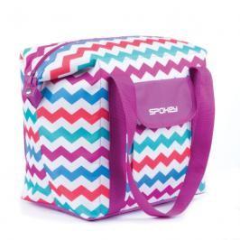 SPOKEY - SAN REMO Plážová termo taška  růžová vzor 52 x 20 x 40 cm