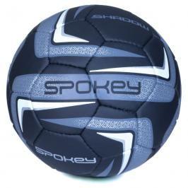 SPOKEY - SHADOW II Fotbalový míč černo-stříbrný č.5