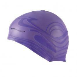 SPOKEY - SHOAL-Plavecká čepice silikonová fialová