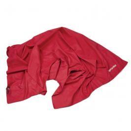 SPOKEY - SIROCCO L Rychleschnoucí ručník 60 x 120 cm, červený s odnímatelnou sponou