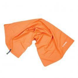 SPOKEY - SIROCCO M Rychleschnoucí ručník 40 x 80 cm, oranžový s odnímatelnou sponou