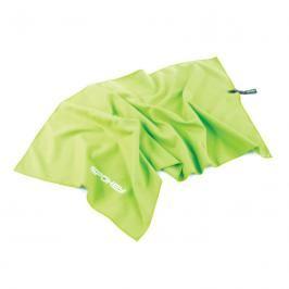 SPOKEY - SIROCCO M Rychleschnoucí ručník 40 x 80 cm, zelený s odnímatelnou sponou