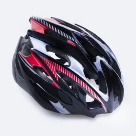 SPOKEY - SKY - Cyklistická přilba pro dospělé černá 55-58 cm