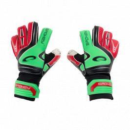 SPOKEY - SUPPORT Brankářské rukavice zeleno - červené roz.4