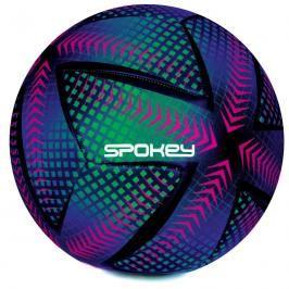 SPOKEY - SWIFT Fotbalový míč fialovo-zelený vel.5