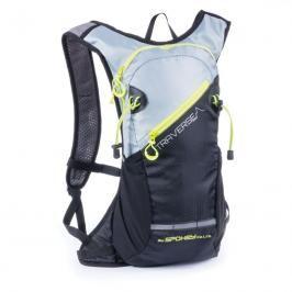 SPOKEY - TRAVERSE - Cyklistický a běžecký batoh 7l, černo/šedý, voděodolný