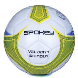 SPOKEY - VELOCITY SHINOUT - Fotbalový míč bílo-žlutý č.5