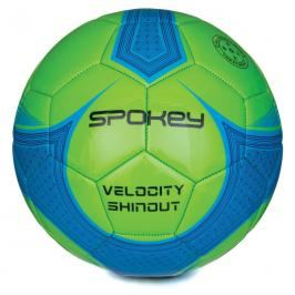 SPOKEY - VELOCITY SHINOUT - Fotbalový míč zeleno-modrý č.5