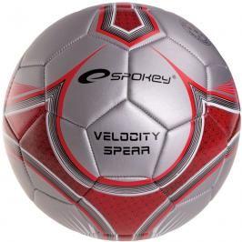 SPOKEY - VELOCITY SPEAR - Fotbalový míč stříbrno-červený č.5