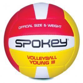 SPOKEY - YOUNG III Volejbalový míč červeno-žlutý vel.4