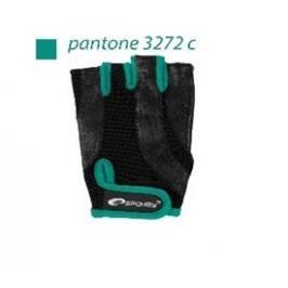 SPOKEY - ZOE Dámské Fitness rukavice černo - zelené vel.S