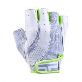 SPOKEY - ZOE II Dámské Fitness rukavice bílo-limetkové vel.L