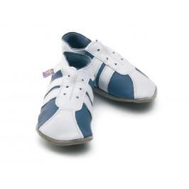 Starchild - Kožené botičky - Sporty Blue / White - velikost S (0-6 měsíců)