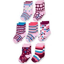 STERNTALER - dětské ponožky set 7 kusů / 706 / 19-22 - dívka