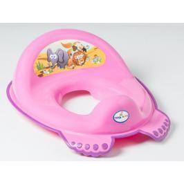 TEGA BABY - Adaptér na WC Safari - růžová