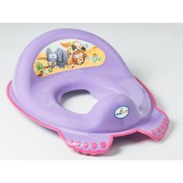 TEGA BABY - Adaptér na WC Safari fialové