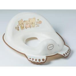 TEGA BABY - Adaptér na WC Teddy bílá perleť
