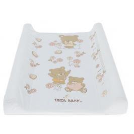 TEGA BABY - Přebalovací podložka Teddy bílá
