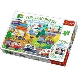 TREFL - Puzzle 36 Flip Flap vozidla