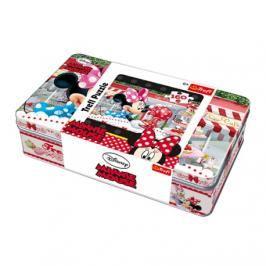 TREFL - Puzzle Minnie Mouse 160 v kovové kazetě