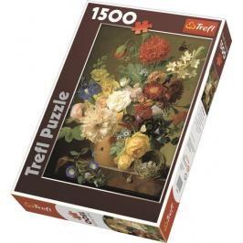 TREFL - Puzzle Zátiší s květinami.