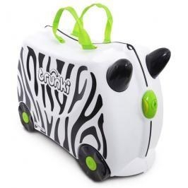 TRUNKI - Cestovní kufřík TRUNKI - Zebra
