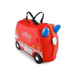 TRUNKI - Kufřík + odrážedlo hasičský vůz Frankie