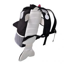 TRUNKI - Nepromokavý batoh - Kosatka (černý 10L)