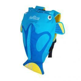 TRUNKI - Nepromokavý batoh - Tropická Rybka (modrý 7.5L)