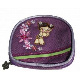 Tutti cuti - Dětská peněženka dívčí, fialová