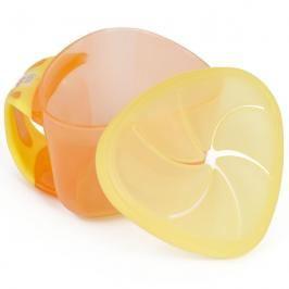 VITAL BABY - Dětská miska Snackbox, oranžová