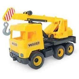 WADER - Middle Truck autojeřáb žlutý v boxu 32122