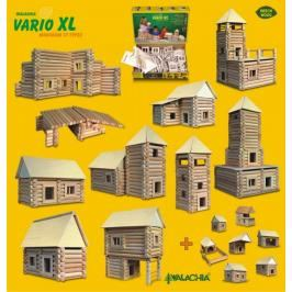 WALACHIA - Dřevěná stavebnice VARIO XL 184 dílů