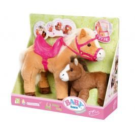 ZAPF - Baby Born Interaktivní Kůň S Hříbátkem